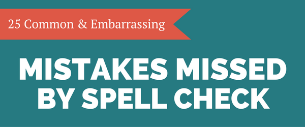 mistakes missed by spell check